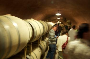 Benzinger Family Winery Cave