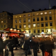 Christmas market in Gamla Stan
