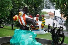 Niki de Saint Phalle Sculpture outside Moderna Museet