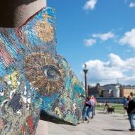 Dala Horse at Stockholm City Hall