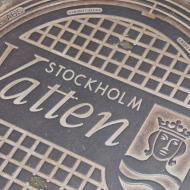 Stockholm Manhole Cover