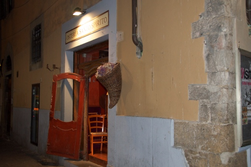 Partially Hanging Door of Florence