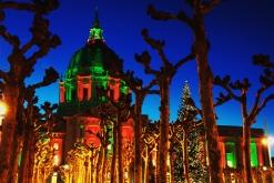 Christmas Scene from San Francisco